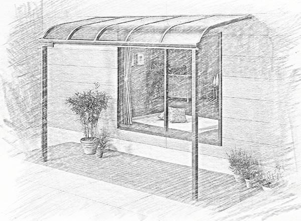 墅雨棚窗棚